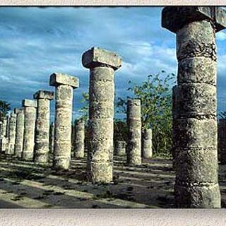 The Pillars at Chichén Itzá