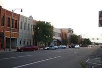 East main street north side of street looking east
