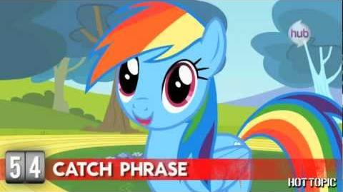 Hot Minute My Little Pony's Rainbow Dash