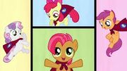 The cutie mark crusaders team