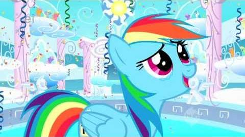 My Little Pony - Rainbow Dash - You're Gonna Go Far Kid Explicit