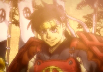 Toyohisa nach seinem ersten Kampf