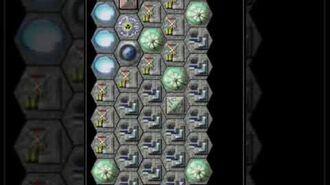 Drifting Souls 2 - verschiedene Ausbaustadien eines Asteroiden