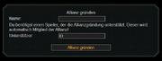 Allianzgründung
