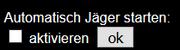 Jäger-Autostart