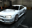 GT-R R34 ARISE No.7 -Ultimate Collaboration-