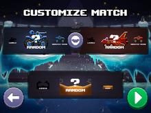 Classic 2P customize menu