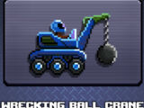 Wrecking Ball Crane