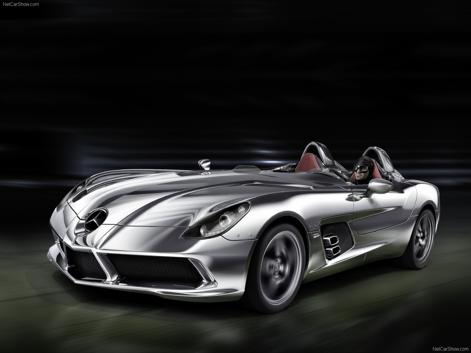 Exceptional Mercedes Benz SLR Stirling Moss
