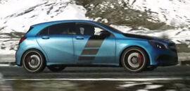Mercedes-Benz A45 AMG (Side)-DriveClub