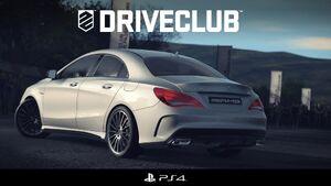 Drive Club Mercedes CLA presentation