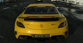 Mercedes-Benz SLS AMG Coupé Black Series (Rear)-DriveClub