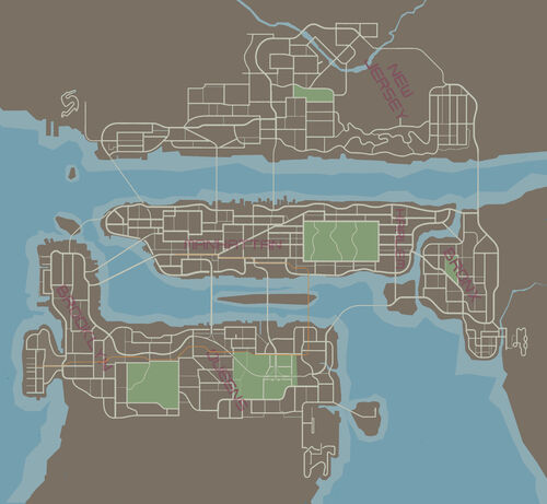 Map | Driver: Parallel Lines Wiki | FANDOM powered by Wikia Driver Map on