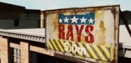 Rays Autos Sign
