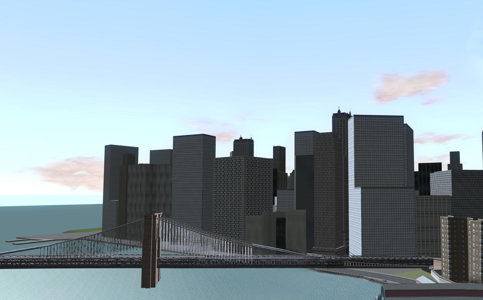 Financial District Manhattan Driver Parallel Lines