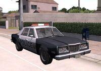 1980 Dodge Diplomat Police Car