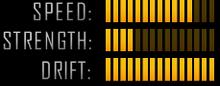 Z06 Drift Stats