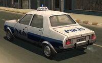 1971 Renault 12 Driv3r Istanbul Police Car
