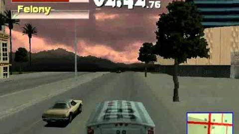 Driver 2 - Las Vegas Misión 6 Steal the Ambulance (Roba la Ambulancia)