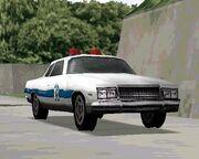 Driver 2 Coche de policía Chicago