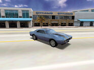Player Car Type 4 Dodge Charger 1970
