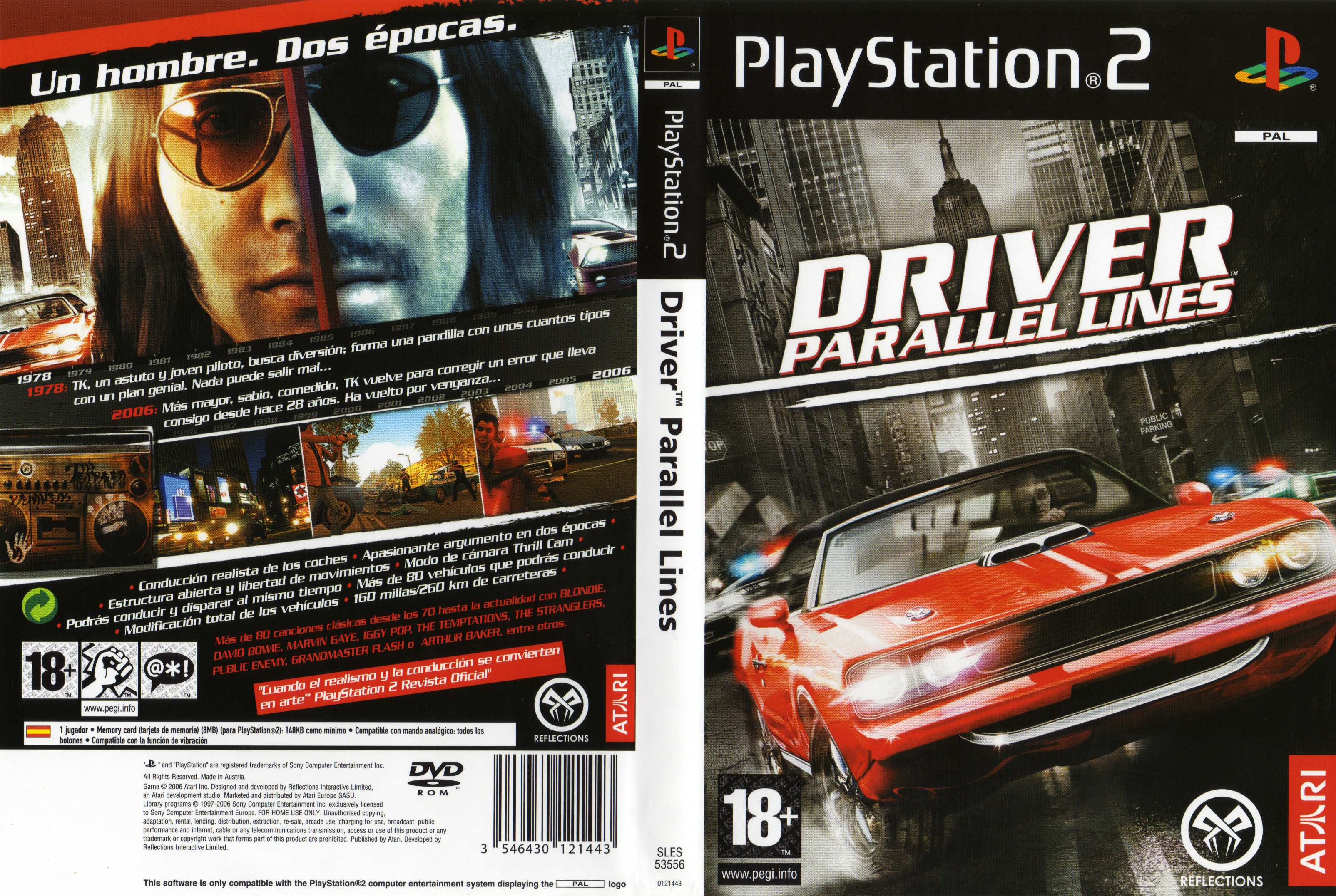 Driver: parallel lines playstation 2 youtube.