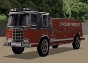 Driver 2 Chicago Camion de bomberos