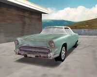 Ford Thunderbird Driver 1