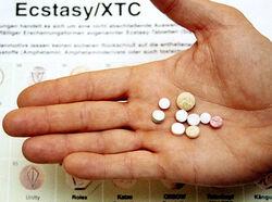 Alg ecstasy-tablets