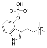 Psilocybin chemical structure