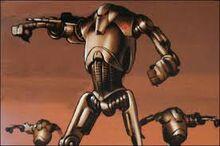 Rebel battle droids