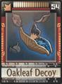 DT Card 54 Oakleaf Decoy