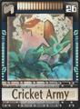 DT Card 26 Cricket Army