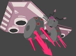 Pixel Moth