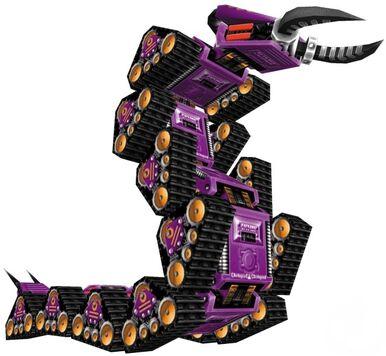 Centipede 3D Model