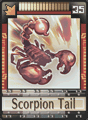 DT Card 35 Scorpion Tail