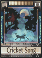 DT Card 07 Cricket Song