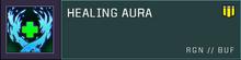 Healing aura title card