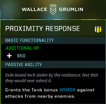 Proximity response gear