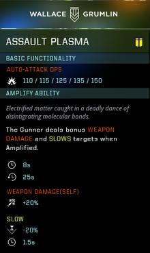 Assault plasma gear