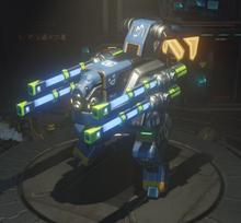 Assault plasma equipped