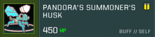 Pandora Body Slot