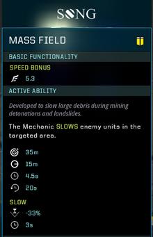 Mass field gear