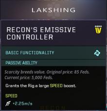 Recon Propulsion Slot Gearbox