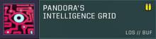 Pandora Sensor Slot