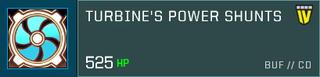 Turbine Shunts