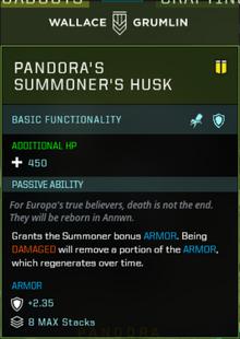 Pandora Body Slot Gearbox