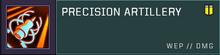 Precision artillery title