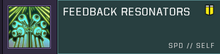 Feedback resonators title