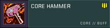 Core hammer title